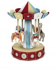 Centre de table en 3D  Carrousel à assembler