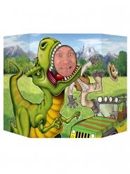 Passe tête dinosaure