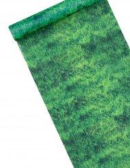 Chemin de table intissé effet pelouse 28 cm x 5 m