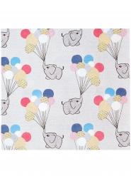 20 Serviettes en papier Petit Elephant gris 33 x 33 cm