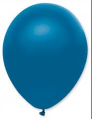 50 Ballons métallisés bleu électrique 30 cm