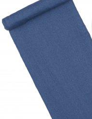 Chemin de table en jean bleu ciel 3 m x 28 cm