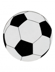 50 Confettis de table en carton Ballons de Football 2 cm
