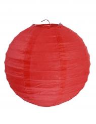 2 Lanternes à suspendre rouge 20 cm