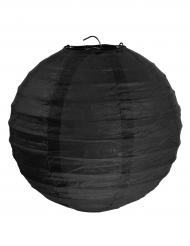 2 Lanternes à suspendre noir 20 cm