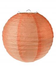 2 Lanternes à suspendre corail 20 cm