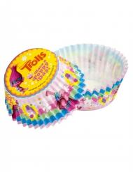 50 Moules à cupcake Trolls™ 5 cm