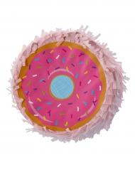 Mini piñata Donut rose 12 x 5 cm