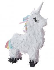 Mini piñata Licorne blanche 17 x 13 x 5,5 cm