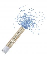Canon à confettis bleus Boy or Girl 30 x 4,5 cm