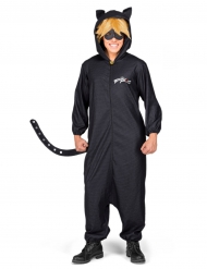 Déguisement combinaison chat noir Miraculous™ adulte