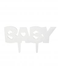 Décoration pour gâteau sur pique à personnaliser Baby 16,2 x 5,5 cm