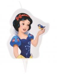 Bougie d'anniversaire Princesses Disney ™ Blanche Neige 6 x 7,3 cm