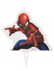 Bougie d'anniversaire Spider-Man ™ 9 x 7 cm