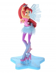 Figurine en plastique Winx Sirenix ™ Bloom 13 cm