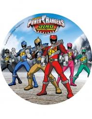 Disque en azyme Power Rangers ™ 21 cm