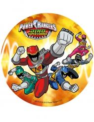 Disque azyme Power Rangers ™ 21 cm