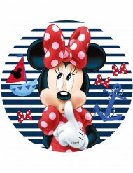 Disque en azyme Minnie ™ Minnie 21 cm