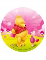 Disque en azyme Winnie l'Ourson ™ Winnie et Porcinet 21 cm
