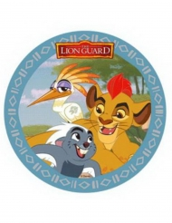 Disque en azyme La Garde du Roi Lion ™ Kion, Ono et Bunga 21 cm