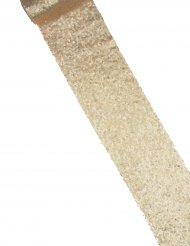 Chemin de table sequins champagne 14 cm x 3 m