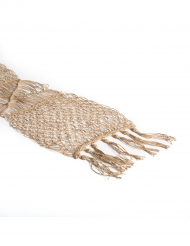 Chemin de table macramé corde 30 cm x 3 m