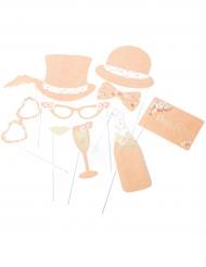 Kit Photobooth Folk 10 accessoires