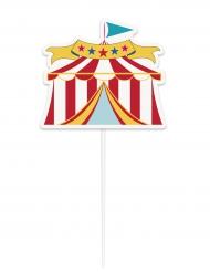 Décoration pour gâteau Chapiteau de Cirque