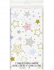 Nappe en plastique Twinkle Twinkle Little Star 137 x 213 cm