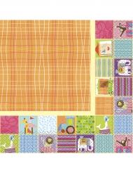 16 Serviettes en papier Petit Cirque 33 x 33 cm