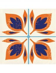 24 Petites serviettes en papier Morocco 25 x 25 cm