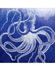 16 Serviettes en papier Octopus 33 x 33 cm
