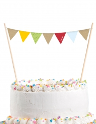 Décoration pour gâteau Renard et Castor