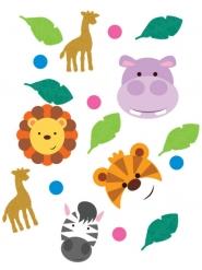 Confettis de table les Animaux de la jungle 14 g
