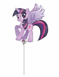 Petit ballon aluminium My Little Pony™ 25 X 27 cm