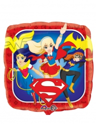 Ballon carré aluminium DC Super Hero Girls™ 43 cm