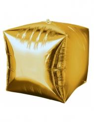 Ballon aluminium cube or 38cm