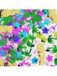 Confettis de table Island Party multicolore 34 grammes