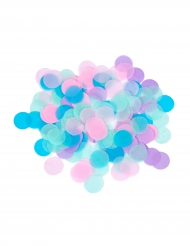 Confettis en papier ronds multicolores 20 gr
