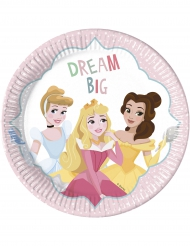 8 Assiettes  en carton 23cm Disney Princesses™