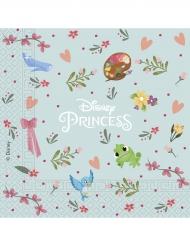 20 Serviettes en papier Disney Princesses™ 33 cm
