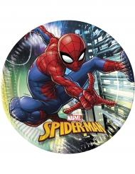 8 Assiettes  en carton Spider-man™ 23 cm