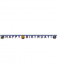 Guirlande happy birthday Spiderman™ 200 x 16 cm