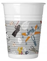 8 Gobelets en plastique Star Wars Forces™ 200 ml
