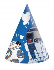 6 chapeaux de fête en carton Star Wars Forces™