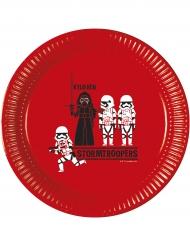 8 Assiettes  en carton Star Wars Forces™ 23 cm