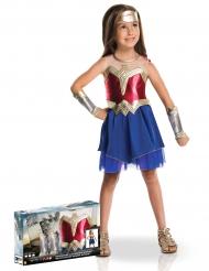 Coffret déguisement luxe Wonder Woman™ fille