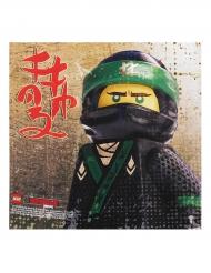 20 Serviettes en papier Lego Ninjago™ 33 x 33 cm