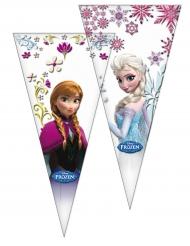 10 Sachets de fête La Reine des Neiges™ 30 x 60 cm