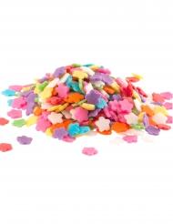 Confettis en sucre Marguerites multicolores 100 g